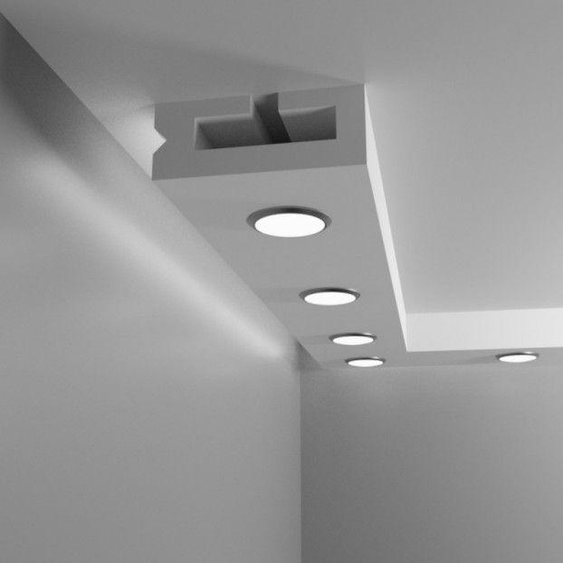 Sufit podwieszany halogenowy prostokątny - Model TV1