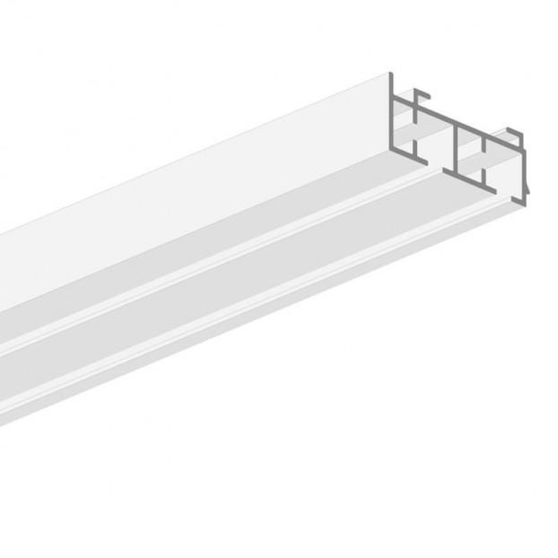 Szyna Sufitowa Aluminiowa 2-Torowa Biała