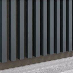 Panel dekoracyjny - Lamele - Antracyt