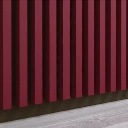 Panel dekoracyjny - Lamele - Bordo Meksykańskie