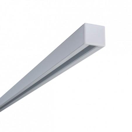 Szyna Sufitowa Prosta 1-torowa - Biała Pojedyncza – Aluminiowa