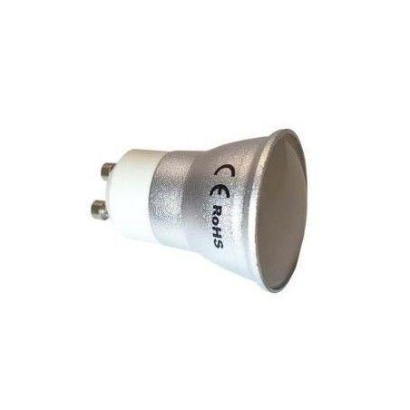 Żarówka LED GU11 230V 5W 430lm aluminiowa barwa ciepła PREMIUM CCD