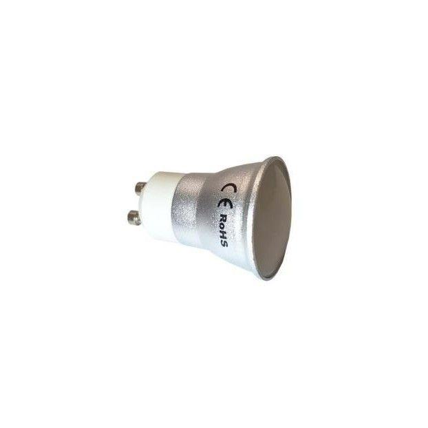 Żarówka LED GU11 230V 5W 430lm aluminiowa barwa neutralna PREMIUM CCD