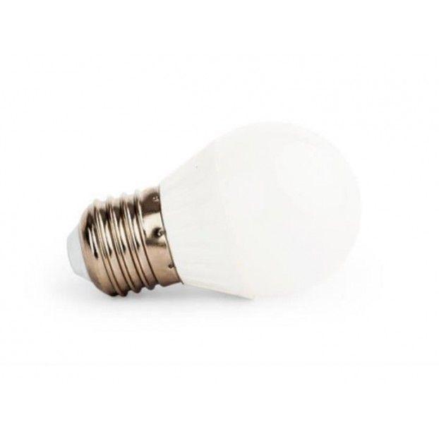 Żarówka LED E27 6W 500lm Kulka G45 smd2835 barwa zimna CCD