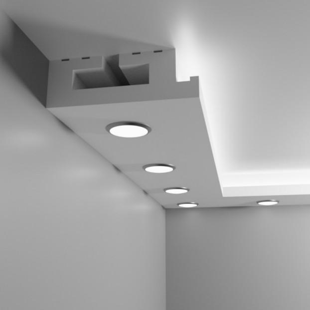 Sufit podwieszany halogenowy punktowy - Model O1L
