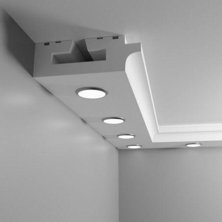 Sufit podwieszany halogenowy punktowy z łukiem - Model CL2
