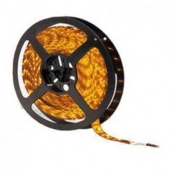 Taśma 60 diod/metr LED SMD 3528 ip20 Żółty