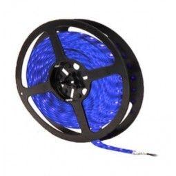 Taśma 60 diod/metr LED SMD 3528 ip20 Niebieski