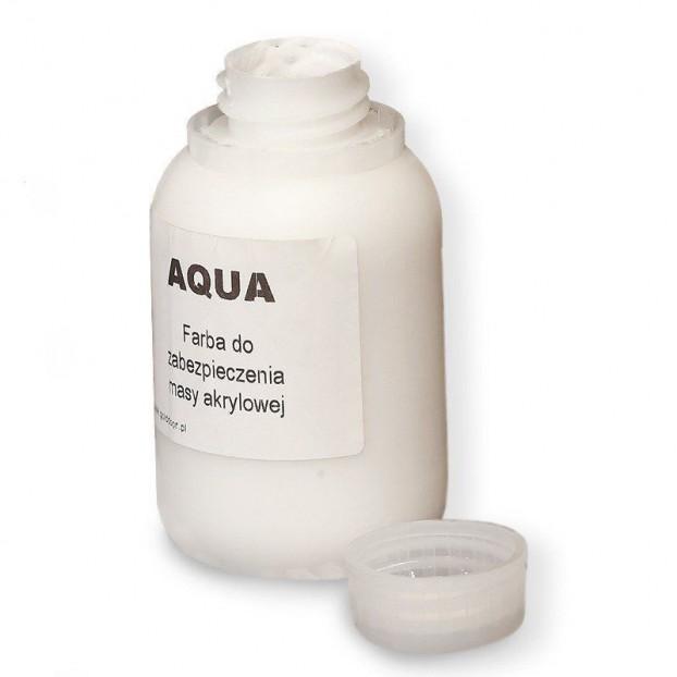 Farba maskująca biała 100 ml do listew przypodłogowych