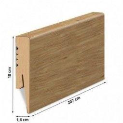 100/16 mm - Listwa Przypodłogowa Dąb MDF - Standard 2