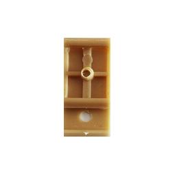 Uchwyt / klips montażowy do listew przypodłogowych PCV 85 mm